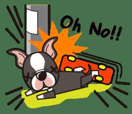 iinu - Boston Terrier sticker #3812548