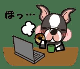 iinu - Boston Terrier sticker #3812551