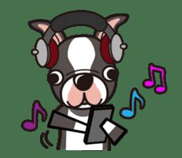 iinu - Boston Terrier sticker #3812552