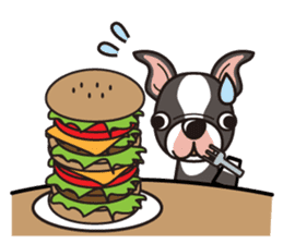 iinu - Boston Terrier sticker #3812554