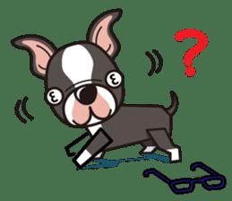 iinu - Boston Terrier sticker #3812557