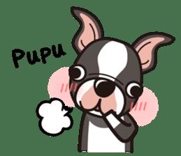 iinu - Boston Terrier sticker #3812559
