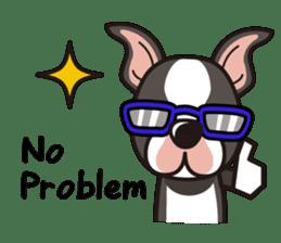 iinu - Boston Terrier sticker #3812565