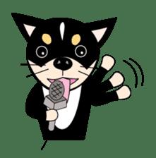 Music Cute Dog sticker #3826716