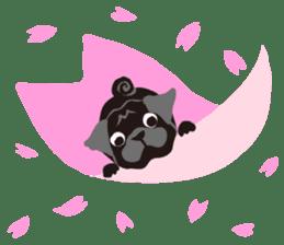 PUG!! sticker #3827521