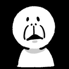 Too expressive sticker