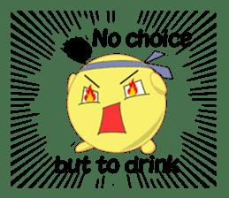 drunkard sticker #3832154