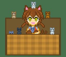 Mimic girl 3rd sticker #3833836