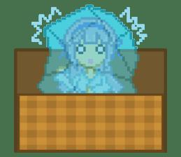 Mimic girl 3rd sticker #3833848