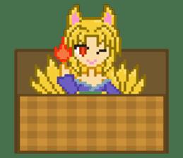Mimic girl 3rd sticker #3833852