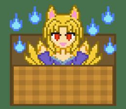 Mimic girl 3rd sticker #3833853