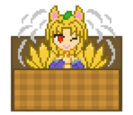 Mimic girl 3rd sticker #3833857