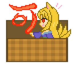 Mimic girl 3rd sticker #3833858