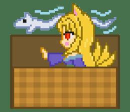 Mimic girl 3rd sticker #3833862