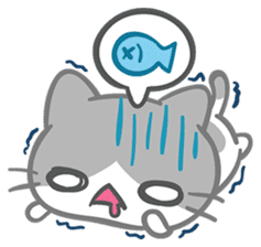 What does the cat say ... Meow 2 sticker #3840992
