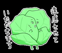 whip vegetables plus sticker #3848376