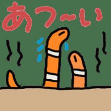 every day garden eel sticker #3854354