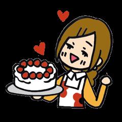 HARUMI loves cooking!