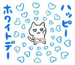 The first half of the cat of season sticker #3859146