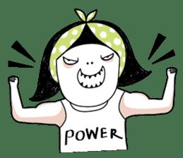 Oh my Bow! - YOGA everyday! sticker #3860513