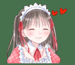 Cute Girls in French Maid sticker #3866296