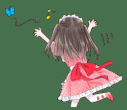 Cute Girls in French Maid sticker #3866299
