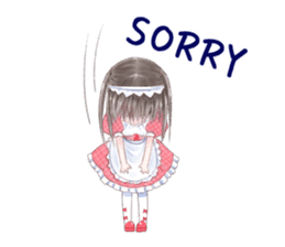 Cute Girls in French Maid sticker #3866302