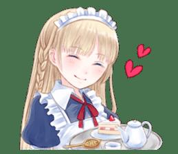 Cute Girls in French Maid sticker #3866313