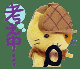 MitchiriNeko Felt-Craft Sticker sticker #3868568