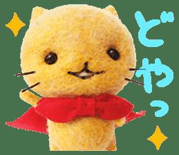 MitchiriNeko Felt-Craft Sticker sticker #3868570