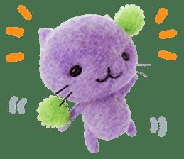 MitchiriNeko Felt-Craft Sticker sticker #3868571