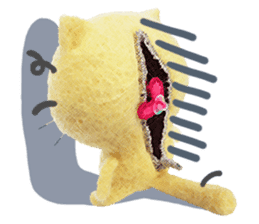 MitchiriNeko Felt-Craft Sticker sticker #3868585