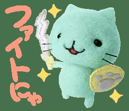 MitchiriNeko Felt-Craft Sticker sticker #3868590