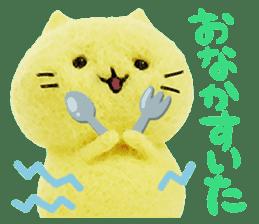 MitchiriNeko Felt-Craft Sticker sticker #3868591