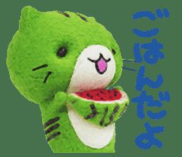 MitchiriNeko Felt-Craft Sticker sticker #3868592