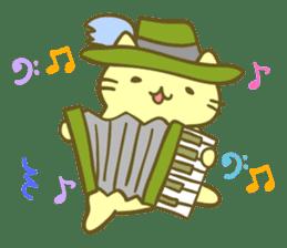 MitchiriNeko Marching Sticker sticker #3869331