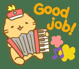 MitchiriNeko Marching Sticker sticker #3869345