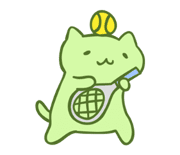 MitchiriNeko Marching Sticker sticker #3869365