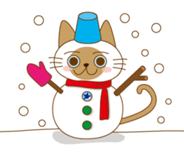 """siamta"" of siamese cat (English ver.) sticker #3882961"