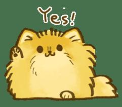 The Pomeranian!! sticker #3884799