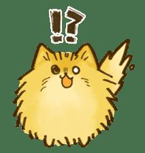 The Pomeranian!! sticker #3884803
