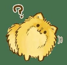 The Pomeranian!! sticker #3884804