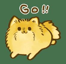The Pomeranian!! sticker #3884805