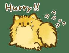 The Pomeranian!! sticker #3884806