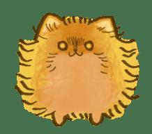 The Pomeranian!! sticker #3884808