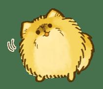 The Pomeranian!! sticker #3884809