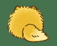 The Pomeranian!! sticker #3884810