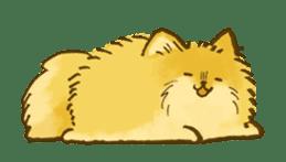 The Pomeranian!! sticker #3884812