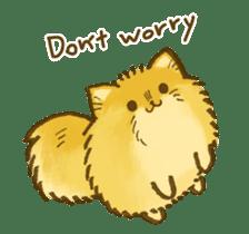 The Pomeranian!! sticker #3884817