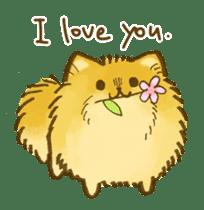 The Pomeranian!! sticker #3884818